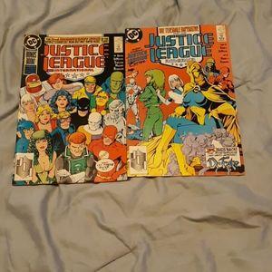 DC Justice League comics
